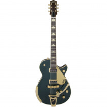 GRETSCH G6128T-57 VINTAGE SELECT '57 DUO JET W/BIGSBY TV JONES CADILLAC GREEN