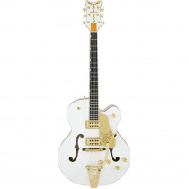 GRETSCH G6136T PLAYERS EDITION FALCON W/STRING THRU BIGSBY FILTER TRON P/U WHITE