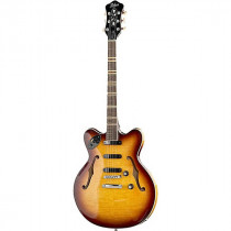 HOFNER VERYTHIN 3 CT (CONTEMPORARY) SUNBURST