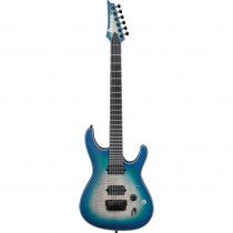 IBANEZ IRON LABEL SIX6FDFM BLUE SPACE BURST