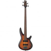 IBANEZ WORKSHOP SRF700 FRETLESS BROWN BURST FLAT