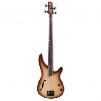 IBANEZ WORKSHOP SRH 500F FRETLESS NATURAL BROWNED BURST FLAT