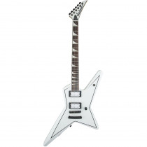 JACKSON X SERIES SIGNATURE GUS G.STAR SNOW WHITE W/BLACK PINSTRIPES