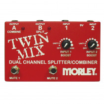 PEDALE SWITCH MORLEY TWIN MIX MIXER/COMBINER