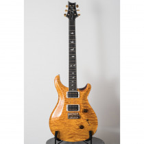 PRS WOOD LIBRARY #0566 CUSTOM 24 FADED VINTAGE YELLOW (PATTERN THIN-TRBLADE 5-QUILT 10 TOP)