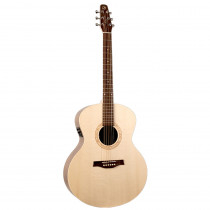 CHITARRA FOLK AMPLIFICATA SEAGULL EXCURSION WALNUT MINI JUMBO ISYS T NATURAL SEMI GLOSS
