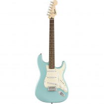 SQUIER BULLET STRAT W/TREMOLO LL TROPICAL TURQUOISE