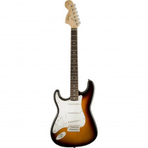 SQUIER AFFINITY STRATOCASTER LEFTY LL BROWN SUNBURST