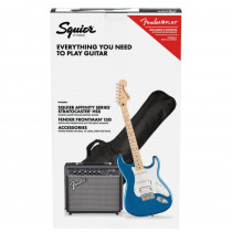 SQUIER AFFINITY SERIES STRATOCASTER HSS PACK MN LAKE PLACID BLUE