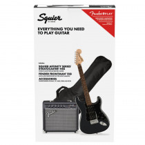 SQUIER AFFINITY SERIES STRATOCASTER HSS PACK LL CHARCOAL FROST METALLIC