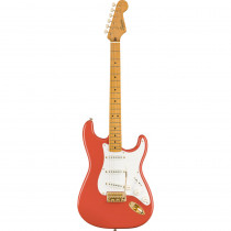 SQUIER FSR CLASSIC VIBE'50S MN STRATOCASTER FIESTA RED W/GOLD HARDWARE