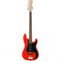 SQUIER AFFINITY PRECISION BASS PJ LL RACE RED