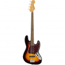 SQUIER CLASSIC VIBE JAZZ BASS '60S FRETLESS LL 3 COLOR SUNBURST