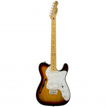 SQUIER VINTAGE MODIFIED '72 TELECASTER THINLINE MN 3 COLOR SUNBURST