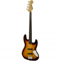 SQUIER VINTAGE MODIFIED JAZZ BASS FRETLESS 3COLOR SUNBURST