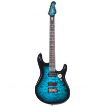 STERLING BY MUSIC MAN JP100D RW PACIFIC BLUE BURST