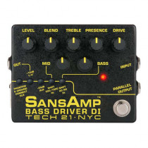 PREAMPLIFICATORE BASSO TECH 21 SANSAMP BASS DRIVER DI VERSION 2