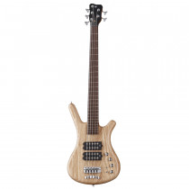 WARWICK GERMAN PRO SERIE CORVETTE $$ 5 NATURAL TRANSPARENT SATIN