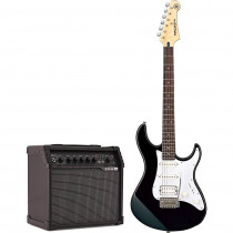 YAMAHA PACIFICA 012 BLACK + LINE 6 SPIDER V 20