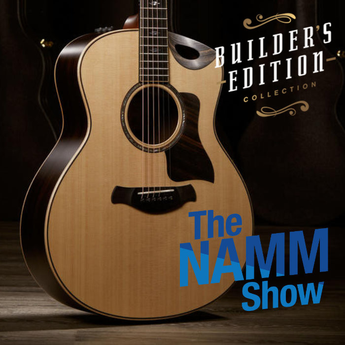 NAMM 2020: Taylor Builder's Edition Collection