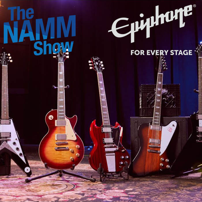 NAMM 2020 | Epiphone: Inspired by Gibson Collection
