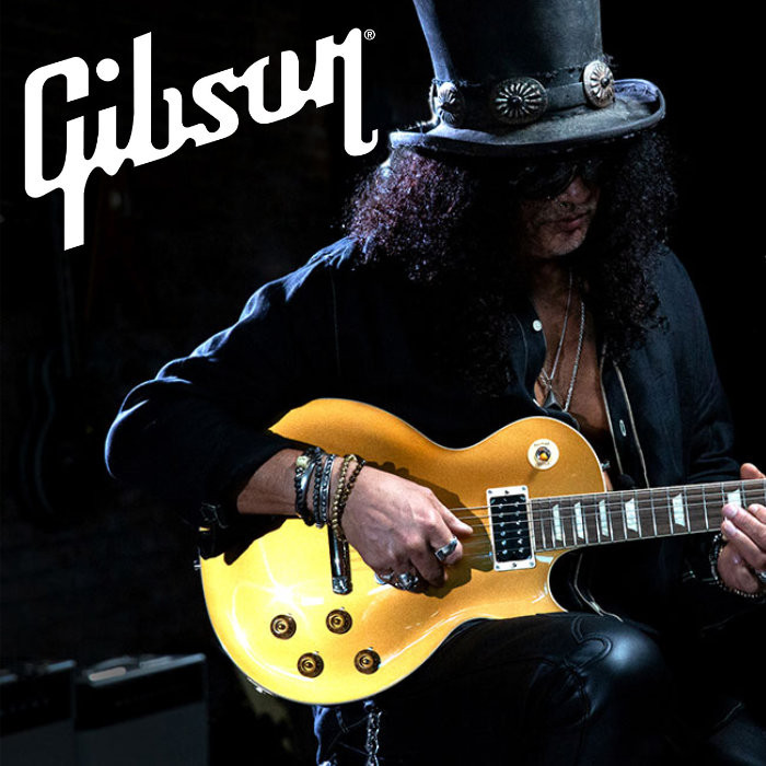 "Gibson: Slash ""Victoria"" Les Paul Standard Goldtop - Gold"