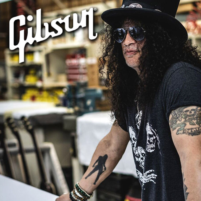 Slash è il primo Global Brand Ambassador di Gibson