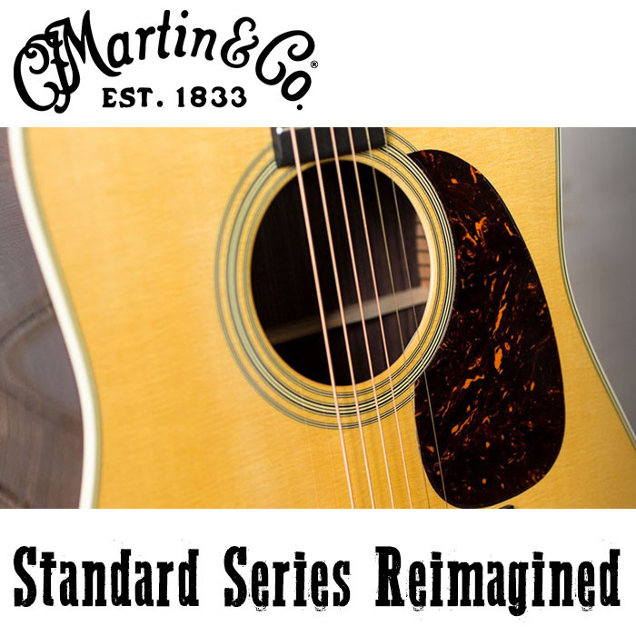 MARTIN Guitars: Standard Series Reimagined 2018