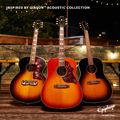 Epiphone Inspired by Gibson chitarre acustiche amplificate