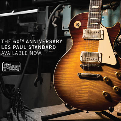 Gibson Custom 2019 Les Paul 60th anniversay